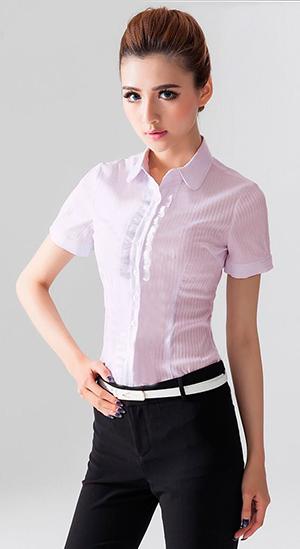 女休闲衬衫(三)